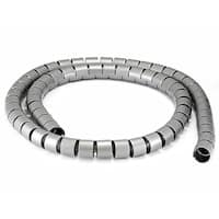 Monoprice Spiral Wrapping Bands - 30mm x 1.5m (Gray)