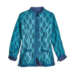 Women's Reversible  Quilted Fashion Jacket