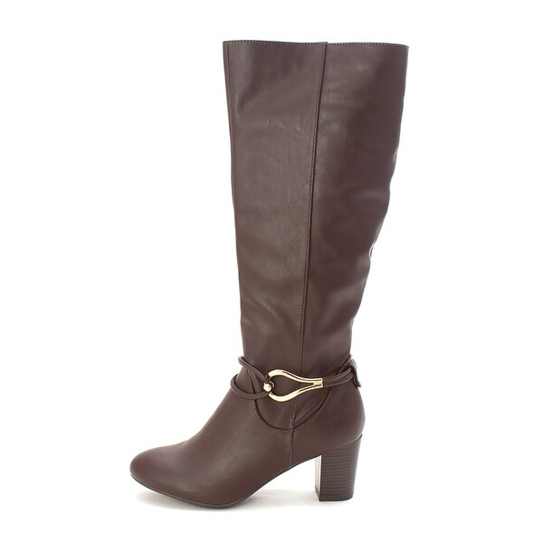 Karen Scott Womens Gaffar Closed Toe Knee High Fashion Boots