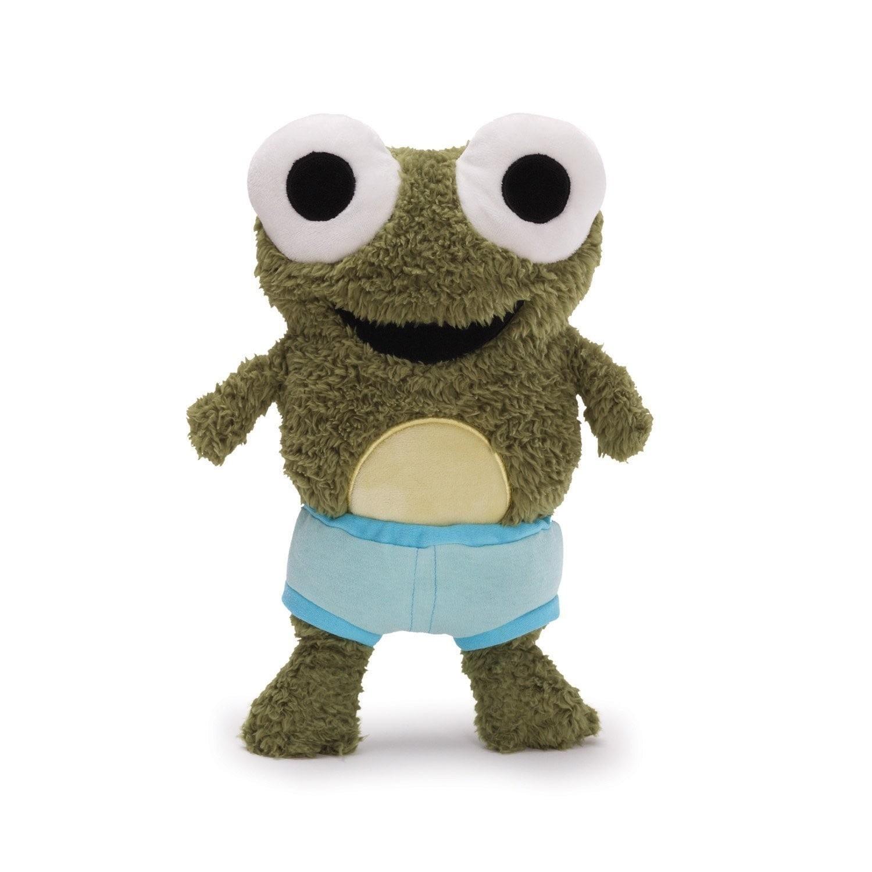 "Gund Frog in Underwear Plush Froggy 9"" - Thumbnail 0"
