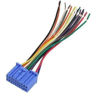 Unique Bargains Auto Car Vehicle Stereo Female Wiring Harness Cord Lead Cable