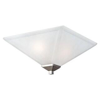 Design House 514794 Torino Transitional 2 Light Ambient Lighting Flushmount Ceiling Fixture