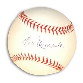 Autographed Don Newcombe Baseball