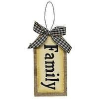 Family Tag Ornament