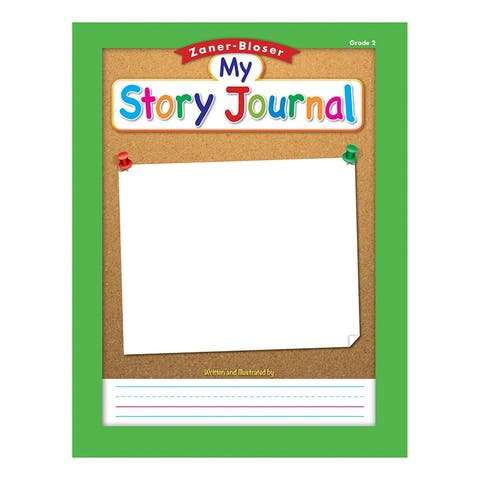 Zaner Bloser Story Journal Gr 2 1/2In Ruling
