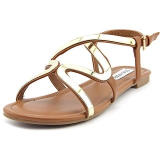 Steve Madden Bazz Women Open-Toe Synthetic Brown Slingback Sandal