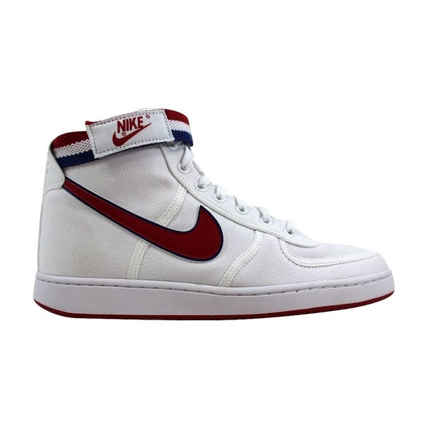 e5e884c88051f Shop Nike Vandal High Supreme White Gym Red-Deep Royal Blue 318330 ...
