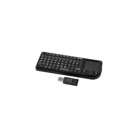 VisionTek DL6408B CANDYBOARD Wireless Mini Keyboard with Touchpad