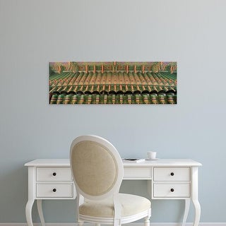 Easy Art Prints Panoramic Images's 'Detail of Palace Seoul South Korea' Premium Canvas Art