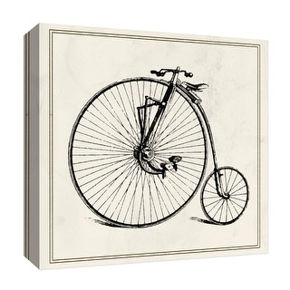 """PTM Images 9-126847  PTM Canvas Collection 12"""" x 12"""" - """"Old Bike"""" Giclee Transportation Art Print on Canvas"""