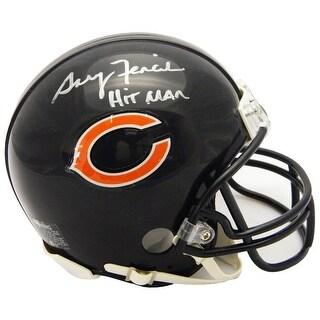 Gary Fencik Chicago Bears Riddell Mini Helmet wHitman