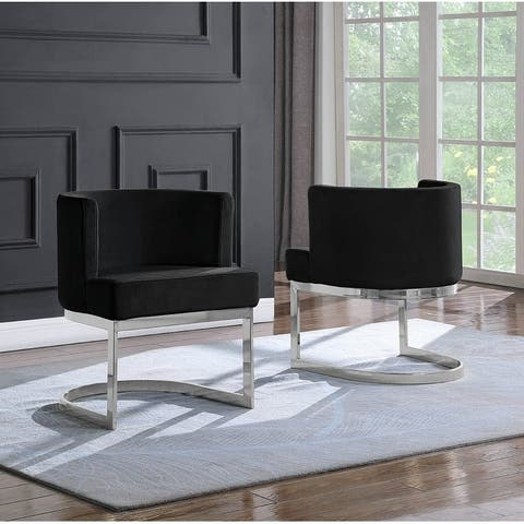 Best Quality Furniture Leisure Chair with Chrome Base (Single)