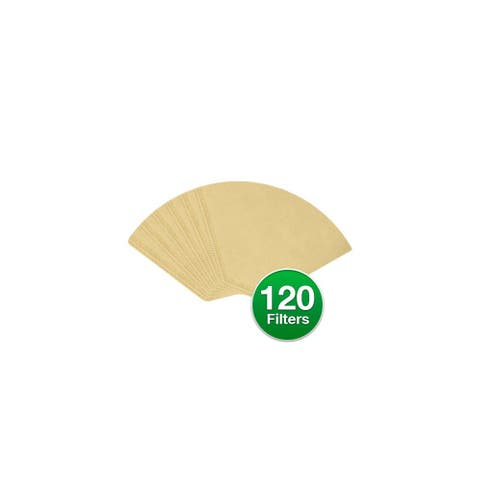 Replacement Coffee Paper Filter for Braun 624412 / #4 Cone Filters (3-Pack) Replacement Filter