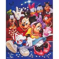 ''Mickey & Friends: At the Movies'' by Walt Disney Walt Disney Art Print (20 x 16 in.)