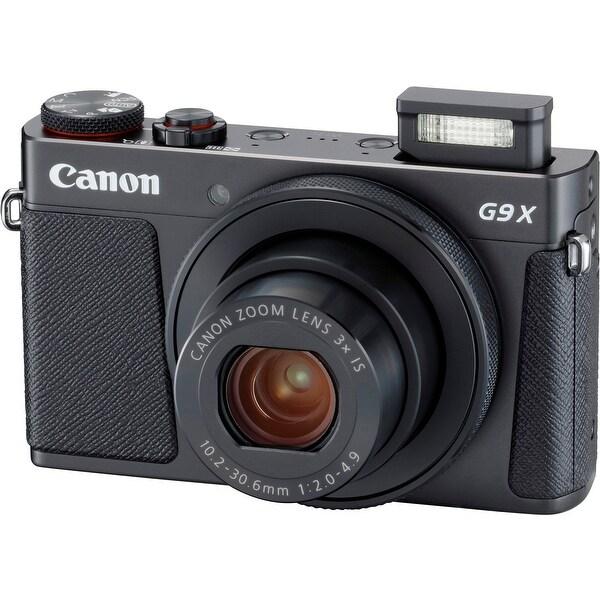 Canon PowerShot G9 X Mark II Compact Digital Camera (Black)