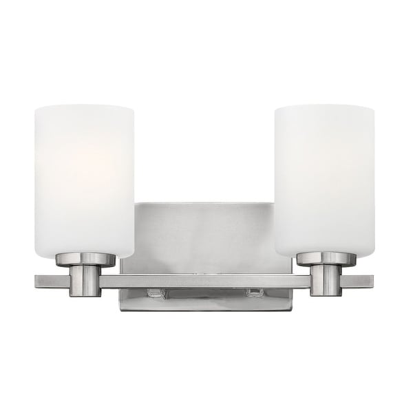 Hinkley Lighting 54622 2-Light Bathroom Fixture from the Karlie Collection - n/a