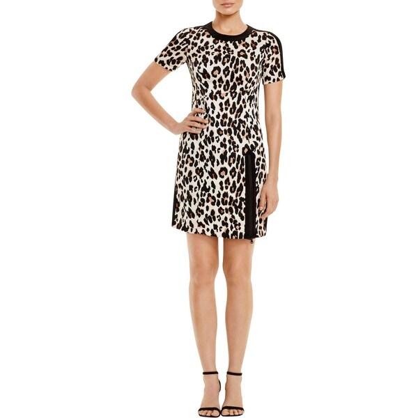 82e605e9d1619 Shop Nanette Lepore Womens Party Dress Chiffon Animal Print - Free ...