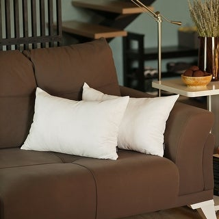 Link to Solid Color Decorative Lumbar Throw Pillow Covers (2 pcs in set) Similar Items in Decorative Accessories