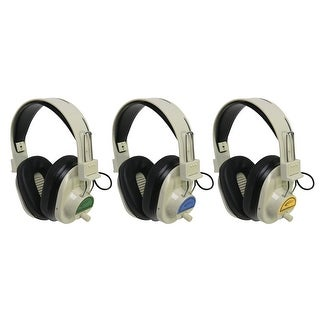 Califone CLS725 72.500 MHz Blue System Cordless Headphones