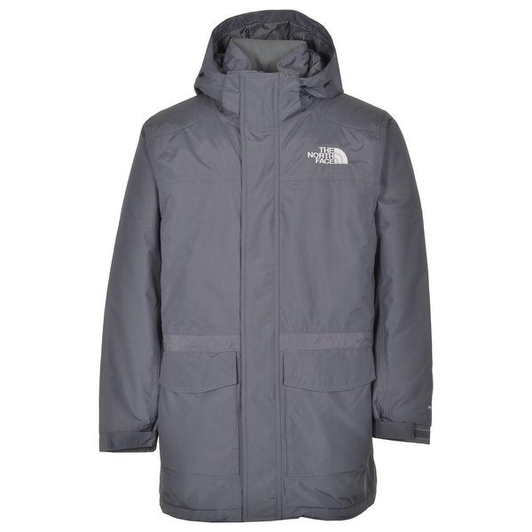 The North Face Carnic Jacket Vanadis Grey HyVent Insulated Removable Hoodie