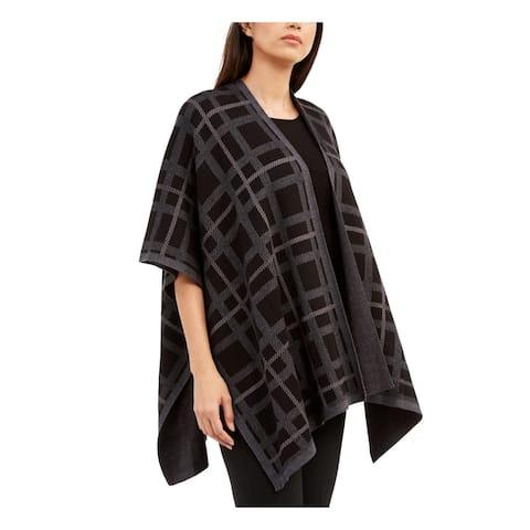 ANNE KLEIN Black 3/4 Sleeve Sweater XS