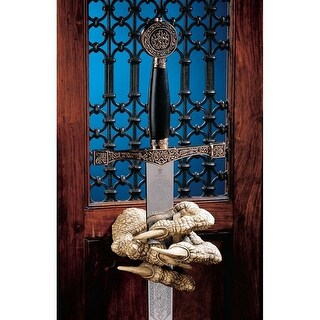 Design Toscano Dragons Thorne MacGarvey Claw Sword Hanger Set