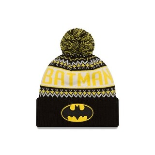 DC Comics Batman Wintry Pom Knit Hat
