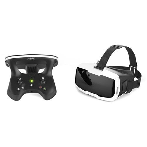 """""""Parrot FPV Pack - Skycontroller 2 and Cockpit Glasses - Black and White FPV Pack - Skycontroller 2 and Cockpit Glasses, Black"""