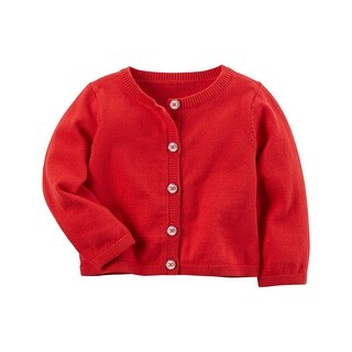 Carter's Baby Girls' Red Cardigan, 24 Months