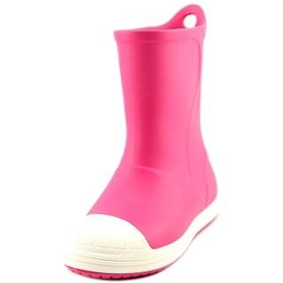 Crocs Bump It Boot Round Toe Synthetic Rain Boot