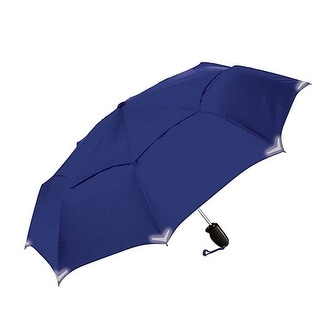 The Indestructible Umbrella Navy Folding Model Straight Handle Defense