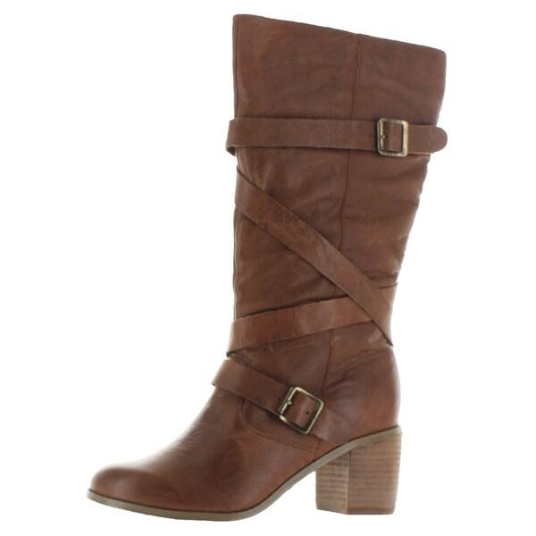 Naughty Monkey Basement Carla Women's Buckle Boots