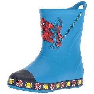 Crocs Kids' Bump It Spiderman Boot Slip-On - 6 m us toddler
