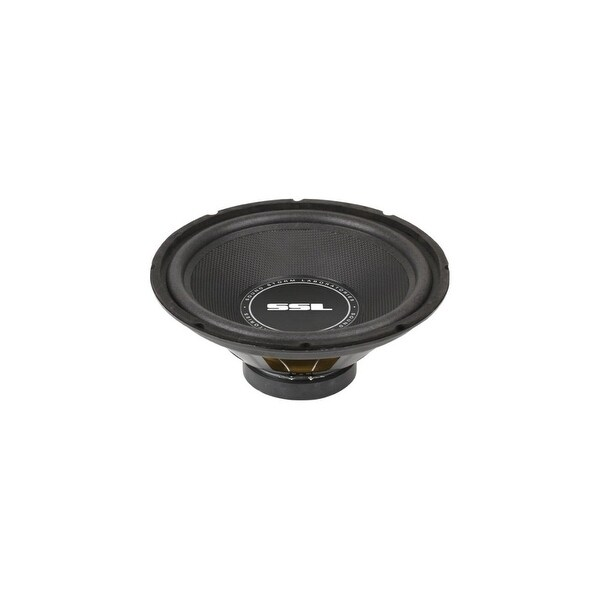 "SSL SS12 SSL SS12 SS12 inch Single Voice Coil (4 Ohm) 800-watt Subwoofer - 4 Ohm - 89 dB Sensitivity - 12"" Woofer -"