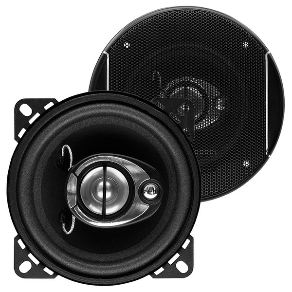 Sound Storm SLQ340 225 Watt (Per Pair), 4 Inch, Full Range, 3 Way Car Speakers (Sold in Pairs)