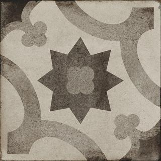"""Daltile QU88SOLEP  Quartetto - 7-7/8"""" x 7-7/8"""" Square Wall & Floor Tile - Unpolished Encaustic Visual"""