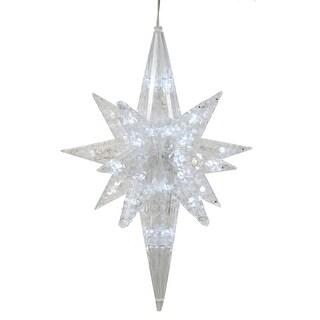 """50Lt x 20"""" PureWhite LED Bethlehem Star"""