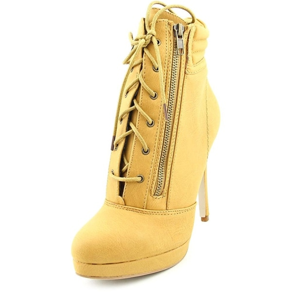 Madden Girl Hartson Pointed Toe Synthetic Ankle Boot