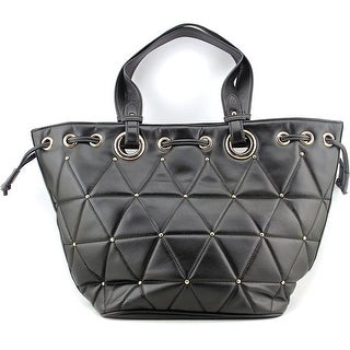 Melie Bianco Rue Women Synthetic Tote - Black