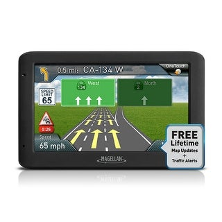 """Refurbished Magellan RoadMate 5635T-LM 5"""" Color Touchscreen GPS System w/ 7 Million Points of Interest"""
