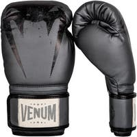 Venum Giant Hook and Loop Sparring Boxing Gloves - Gray