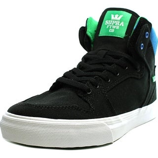 Supra Vaider   Round Toe Canvas  Skate Shoe