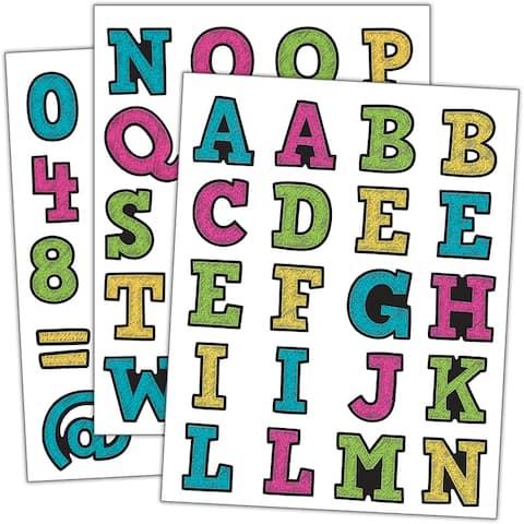 Chalkboard Brights Alphabet