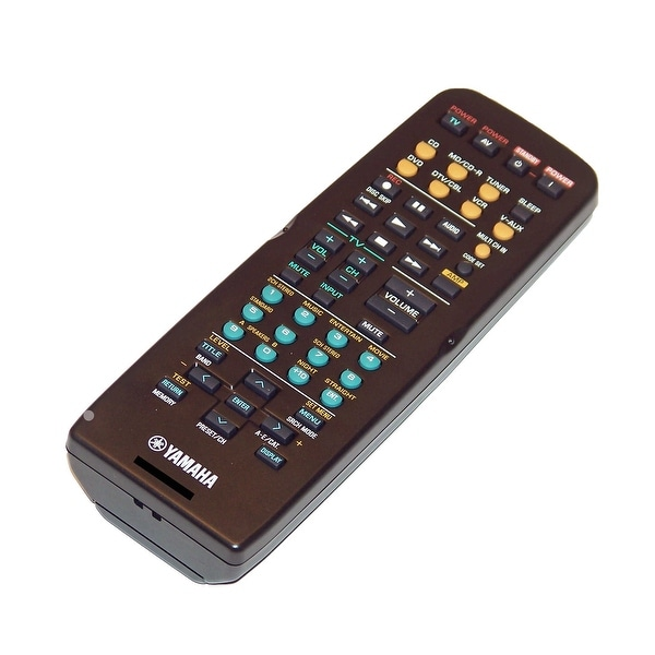 OEM Yamaha Remote Control Originally Shipped With: YHT270, YHT-270, YHT270SL, YHT-270SL, YHT570, YHT-570