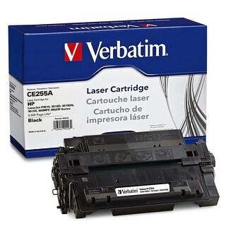 Verbatim Hp Ce255a Remanufactured Laser Toner Cartridge, Black 99226