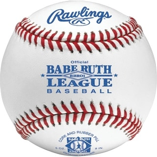 Rawlings Babe Ruth League Baseball (Dozen) White