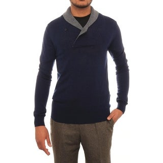 Antony Morato Long Sleeve Shawl Collared Sweater Men Regular Sweater Top