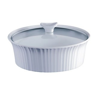 Corningware 1105930 Covered Glass Casserole, 2-1/2 Quarts