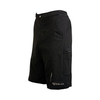 Serfas Men's Zip Cargo Cycling Shorts - Black