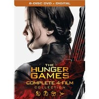 Hunger Games: Complete 4 Film Collection [DVD]